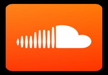 20000 Non drop Soundcloud followers