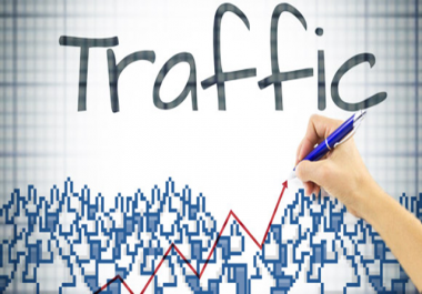 I want 1000 source traffic with bounce rate below 40 and high click through rate. No fake.