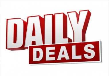 i want a website to sell Daily Deals