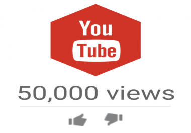 50,000 High Quality YTB Views