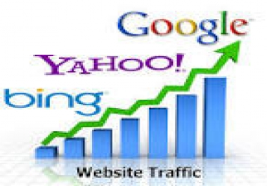 I need website traffic that is trackable on Google Analytics