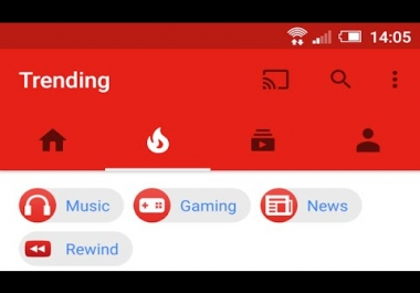 Youtube TRANDING - HOT 50