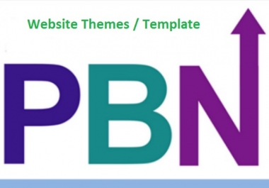 I need 5 PBN or Guest Post Backlinks Website Themes or Website Related