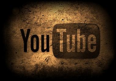 need 200k youtube veiw