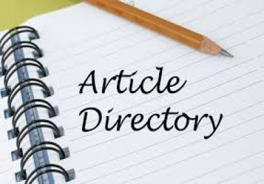 20 article directories submission