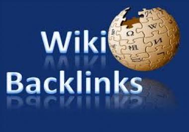 20,000 Wiki Backlinks for your Blog or website