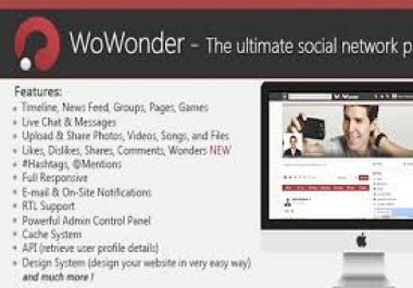 looking for wowonder social network script