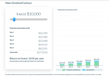 Need JS Investment ROI Calculator