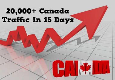 50000 visits only from Canada