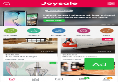 looking for someone to setup up joysale script