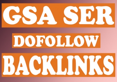 5000 GSA SER mix backlinks