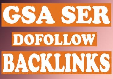 5000 GSA SER mix backlinks