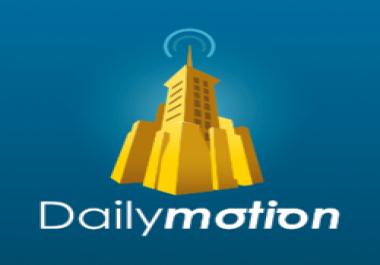 Dailymotion 1,000,000 video views