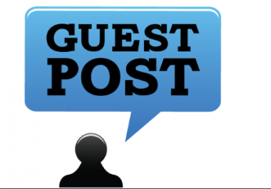I need guest posts/editorials posted to high quality sites