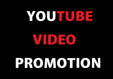 Looking for someone for YOUTUBE VIDEO PROMOTION