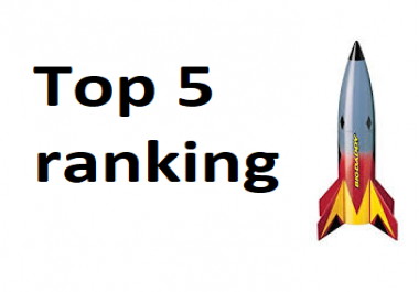 Rank my site top 5 for low / medium keywords 2