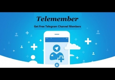 1000 Real Telegram channel members