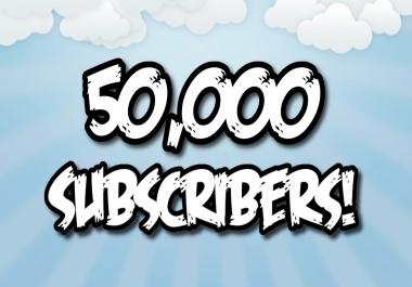 35k utube subscribers needed asap