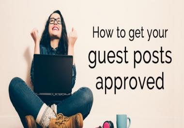 Get SEO Optimized Health guest blogs