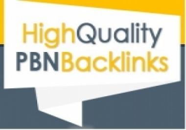 High PR PA DA TF CF,  PBN Backlinks - Homepage Quality 5 Links for