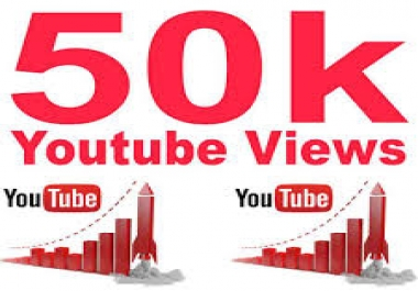 50.000 views SPECIFIC REQUERMENTS,  PLEASE READ