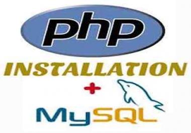 Website PHP Installation