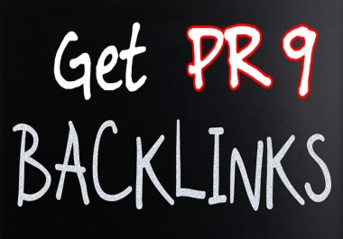 Manual 30 PR9 + 30 EDU and GOV Profile Backlinks
