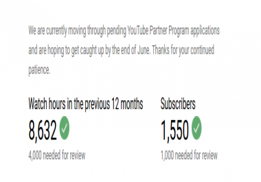 I Give You 100 Watching Hours For Youtube Monetization.