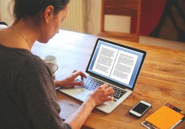 I provide you Ebook writing 1000 words