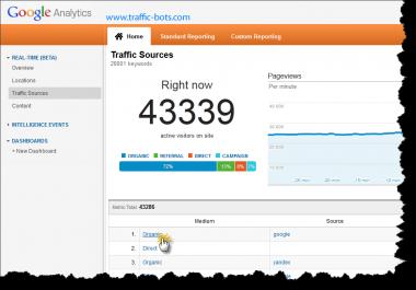 Need a traffic bot/Software