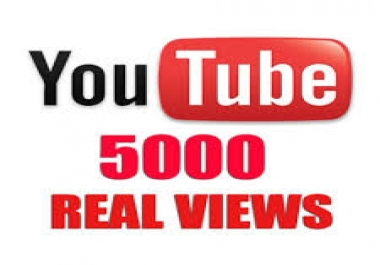 5000 youtbe views for 5