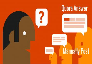 Quora Questions Posting