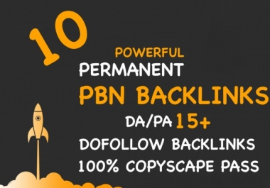 Want 10 pbn links not web 2.0