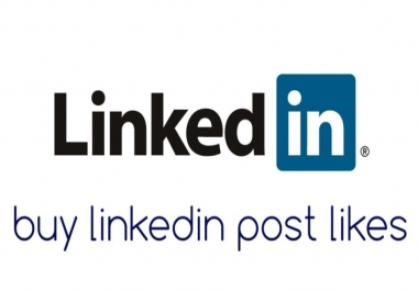 Need LinkedIn likes for 10 posts