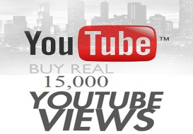 i want 15k youtube watch to one video in 3 days