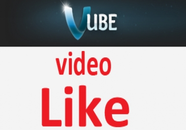 I need to vube. com 1000 like for my videos