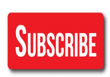 Genuine Youtube Subscriber