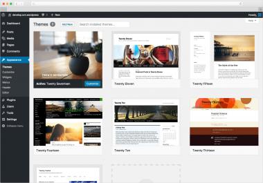 website design in wordpress in mh healthmag
