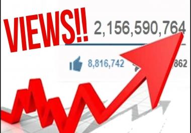 500.000 Youtube Views non-drop