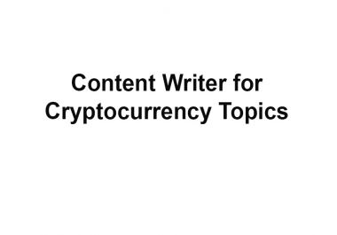 Blog Article about Cryptocurrency 2000 Words