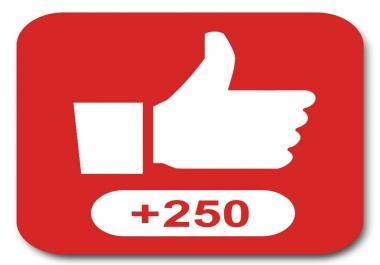 i need 250-350 youtube likes instantly