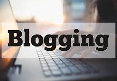 I want set up all we need in a blog,  is a DFY service