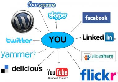 I will provide 100 manually social profile backlinks