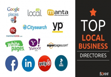 I Need 40 Business Directory/Local Citation For My Website
