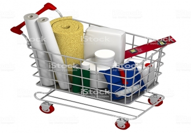 Website For Construction and Shopping of required materials