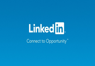 I Need LinkedIn Support Example Followers, Like, connection and Share Long tram work