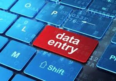 Simple Data Entry job