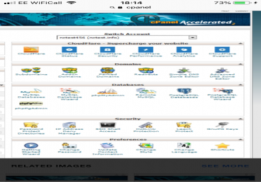 wanted cpanel hosting