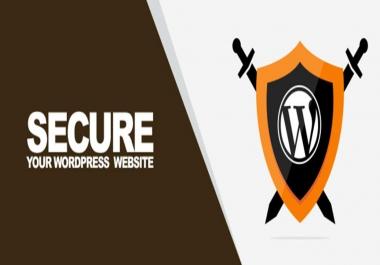 WordPress Website Security Optimization