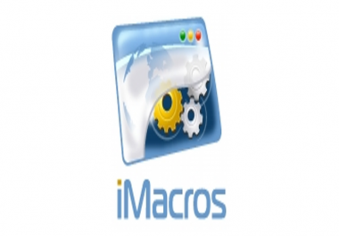 Need iMacros Expert to Build Custom Workflow Scripts for Marketing and Admin Tasks